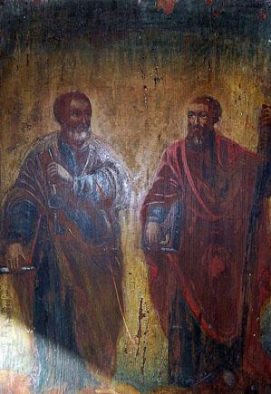 Икона св. Петра и Павла.